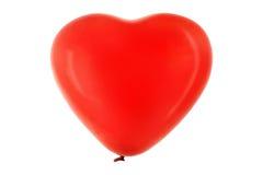Pallone rosso Immagini Stock Libere da Diritti