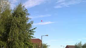 Pallone rosso Fotografia Stock Libera da Diritti