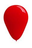 Pallone rosso lucido fotografia stock libera da diritti