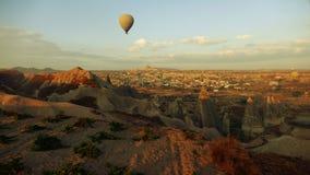 Pallone sopra Cappadocia Fotografia Stock
