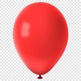Pallone variopinto realistico di vettore Immagine Stock Libera da Diritti