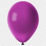 Pallone variopinto realistico di vettore Fotografie Stock Libere da Diritti