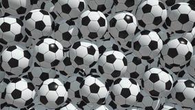Palloni da calcio royalty illustrazione gratis