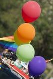 Palloni della bandiera di pace Fotografie Stock Libere da Diritti