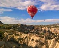 Palloni della Turchia Fotografia Stock