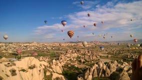 Palloni della Turchia Immagine Stock