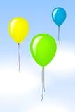 Palloni di colore Fotografia Stock Libera da Diritti