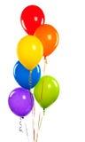Palloni di compleanno Immagini Stock