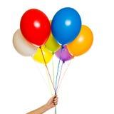 Palloni di galleggiamento Immagine Stock Libera da Diritti