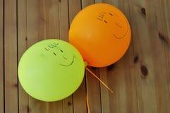 Palloni divertenti Immagini Stock