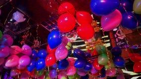 Palloni durante il partito video d archivio
