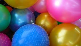 Palloni luminosi Immagini Stock
