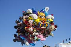 Palloni a Oktoberfest a Monaco di Baviera, Germania, 2015 Fotografia Stock Libera da Diritti
