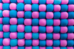 Palloni rosa e blu Immagine Stock