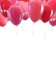 Palloni rossi Immagine Stock Libera da Diritti