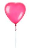 Palloni rossi del cuore Immagini Stock