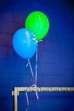 Palloni su un fondo colorato Immagine Stock Libera da Diritti