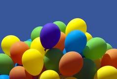 Palloni variopinti Immagine Stock