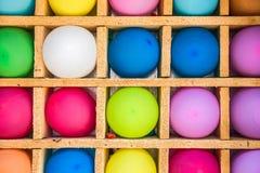Palloni variopinti del giocattolo Fotografie Stock Libere da Diritti