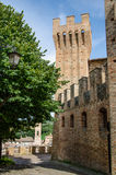 Pallotta castle in Caldarola Stock Images
