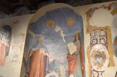 Pallotta slott i Italien Royaltyfri Fotografi
