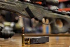Pallottola del tiratore franco Fotografia Stock Libera da Diritti