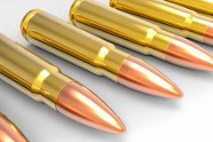 Pallottola di AK47 Fotografia Stock Libera da Diritti