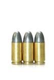 Pallottola e Shell fotografie stock