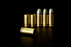 Pallottola e Shell Fotografia Stock