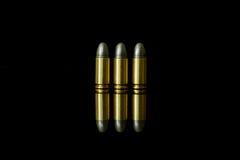 Pallottola e Shell Immagini Stock