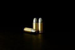 Pallottola e Shell Immagine Stock