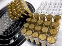 2 2 pallottole Fotografia Stock