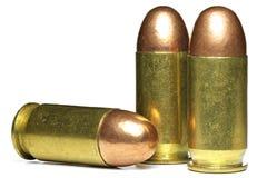45 pallottole Fotografia Stock Libera da Diritti
