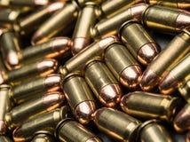 45 pallottole ACP Immagini Stock Libere da Diritti