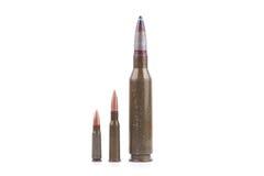 Pallottole del fucile Immagine Stock
