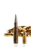 Pallottole differenti Fotografie Stock