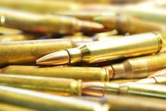 Pallottole M16 Immagine Stock Libera da Diritti