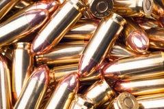 Pallottole 9x21 fotografie stock libere da diritti