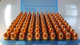 pallottole 9x21 fotografia stock