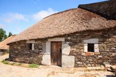 Palloza traditional northwest spanish dwelling Stock Photo