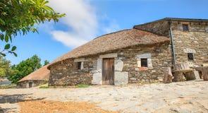 Palloza traditional northwest spanish dwelling Royalty Free Stock Image