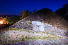 Palloza traditional northwest spanish dwelling Royalty Free Stock Images