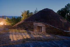Palloza traditional northwest spanish dwelling Stock Image