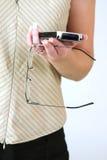 Palm牌控制器妇女 库存图片