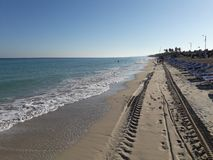 Palm Beach в Santa Maria Del Mar, Кубе стоковое фото rf