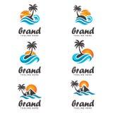 Palm Beach Illustration Libre de Droits