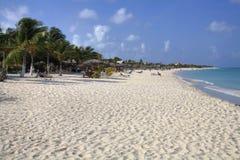 Palm Beach, Aruba imagem de stock royalty free