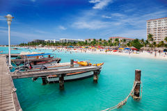 Palm Beach, Aruba Photo stock