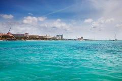 Palm Beach, Aruba 免版税图库摄影