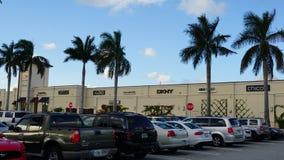Palm Beach-Ausgänge in West Palm Beach, Florida lizenzfreies stockfoto